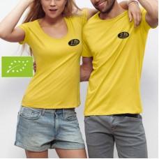 T-shirt Bio, manches courtes pour femme