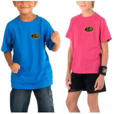 T-shirt respirant, manches courtes pour enfant, unisexe