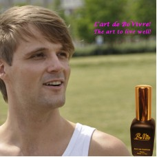 Parfum Bovito № 65 pour homme, aromatique, musqué et frais, Parfum pour lui