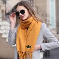 Écharpe, foulard en cachemire de qualité supérieure, unisexe